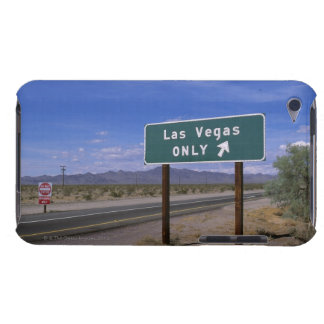 Roadside sign showing direction, California iPod Touch Case