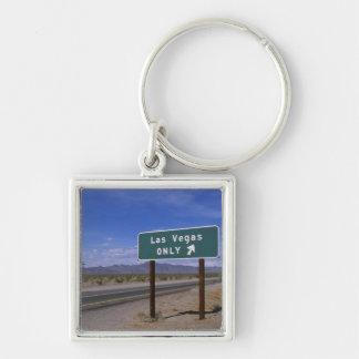 Roadside sign showing direction, California Key Chain