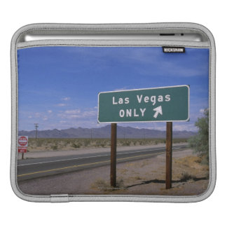 Roadside sign showing direction, California Sleeve For iPads
