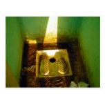 Roadside toilet in Tunisia 2 Postcard