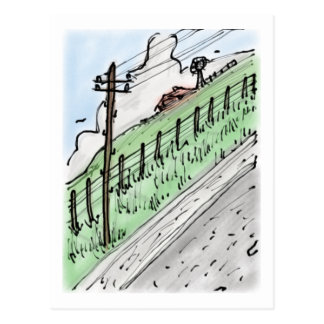 Roadside View 2016 Postcard