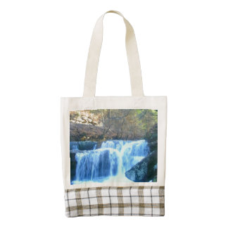 Roadside Waterfall Fayette County Zazzle HEART Tote Bag