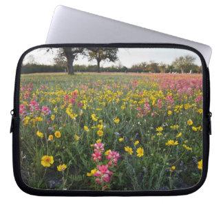 Roadside wildflowers in Texas, spring 3 Computer Sleeve