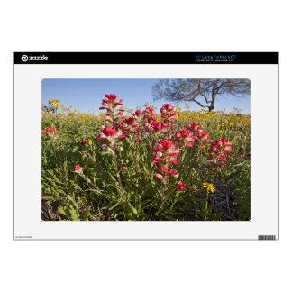 "Roadside wildflowers in Texas, spring 4 Skin For 15"" Laptop"
