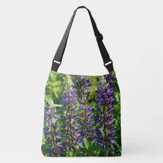 Roadside Wildflowers - Lupins Crossbody Bag