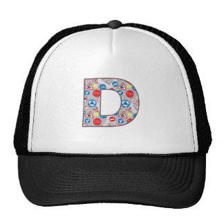 Roadsign Fun D Trucker Hat