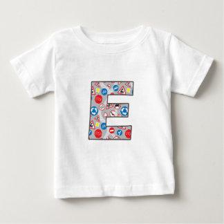 Roadsign Fun E Baby T-Shirt