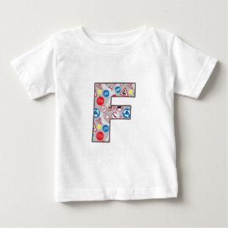 Roadsign Fun F Baby T-Shirt