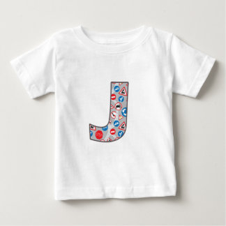 Roadsign Fun J Baby T-Shirt