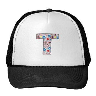 Roadsign Fun T Trucker Hats