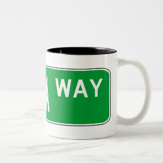 Roadsign Tabla Mug