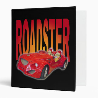 roadster 3 ring binder