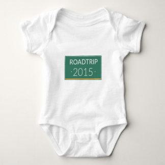 Roadtrip 2015 baby bodysuit