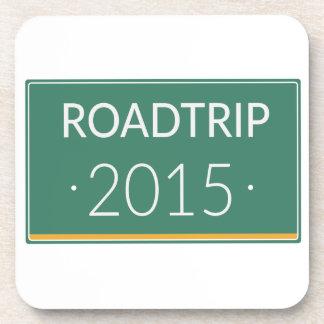 Roadtrip 2015 beverage coaster