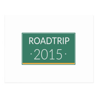 Roadtrip 2015 postcard