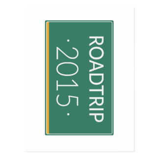 Roadtrip 2015 postcard