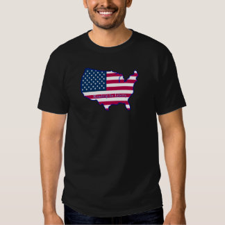 Roadtrip for Liberty - Flag with Title T Shirt