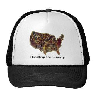 Roadtrip para la libertad - gorra póstumo