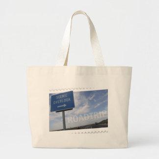 Roadtrip Scenic Overlook Canvas Bag
