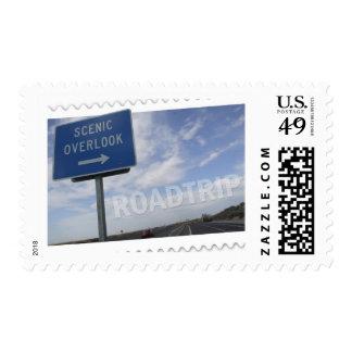 Roadtrip Scenic Overlook Stamps