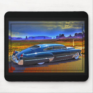 roadtripping a painted sky mouse pad