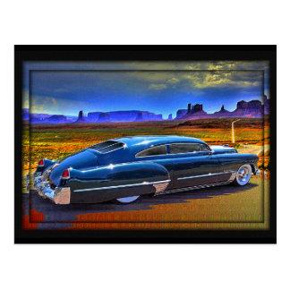 roadtripping un cielo pintado tarjeta postal