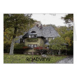 Roadview Cottage Greeting Card