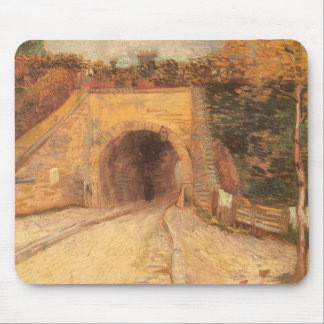 Roadway Underpass, Viaduct by Vincent van Gogh Mouse Pad
