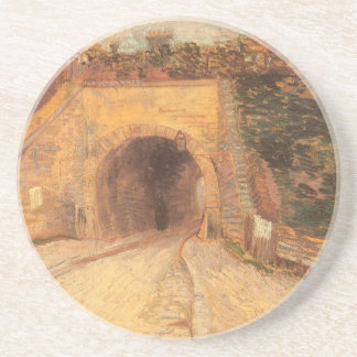 Roadway Underpass, Viaduct by Vincent van Gogh Sandstone Coaster