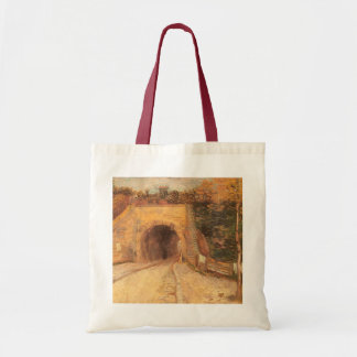 Roadway Underpass, Viaduct by Vincent van Gogh Tote Bag