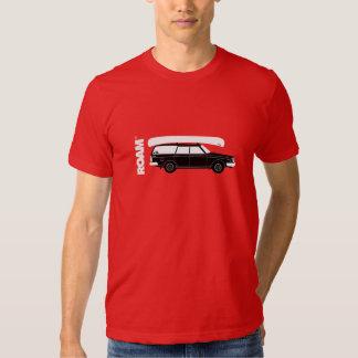 ROAM Granola Wagon + Canoe T-shirt