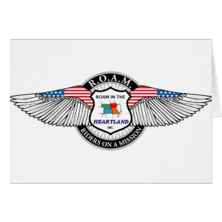 ROAM-logo-large Greeting Card
