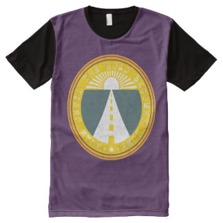 roam until the road becomes home All-Over-Print T-Shirt