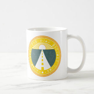 roam until the road becomes home coffee mug