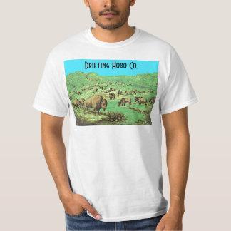 roaming bison shirt