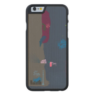 Roaming Carved® Maple iPhone 6 Case