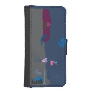 Roaming iPhone SE/5/5s Wallet Case