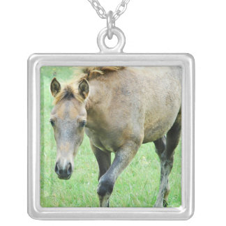 Roaming Roan Horse Necklace