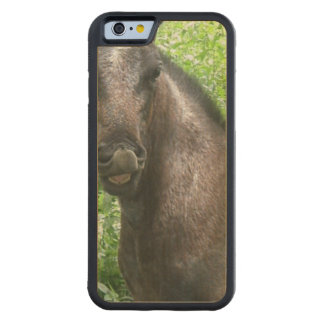 Roan Horse Carved® Maple iPhone 6 Bumper Case