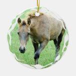 Roan Horses Ornament