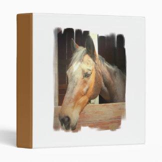 Roan Thoroughbred Horse Binder