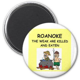 ROANOKE 2 INCH ROUND MAGNET