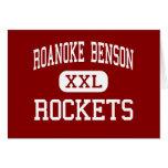 Roanoke Benson - Rockets - joven - Benson Felicitaciones