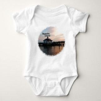 Roanoke Island Lighthouse Baby Bodysuit