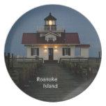 Roanoke Island Lighthouse Dinner Plate