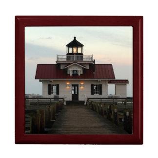 Roanoke Island Lighthouse Keepsake Box