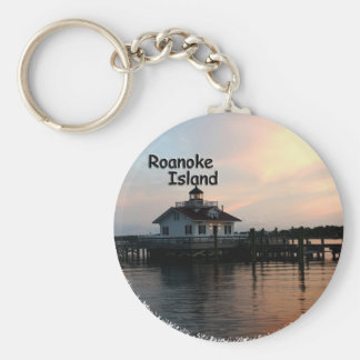 Roanoke Island Lighthouse Keychain