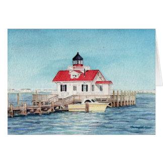 Roanoke Island Lighthouse Notecard