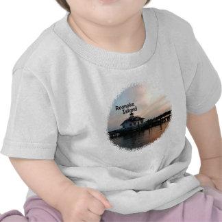 Roanoke Island Lighthouse T Shirt