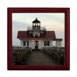 Roanoke Island Lighthouse Trinket Boxes